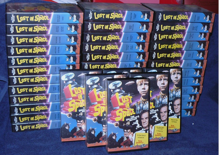 LOST IN SPACE VHS TAPES