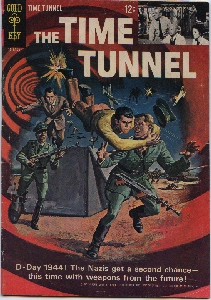 THE TIME TUNNEL, Issue#2 Cover